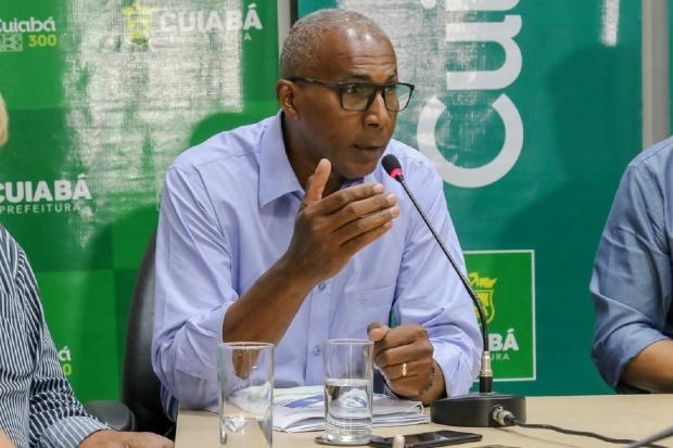 Secretário de Ordem Pública pede que ônibus só transportem passageiros sentados em Cuiabá