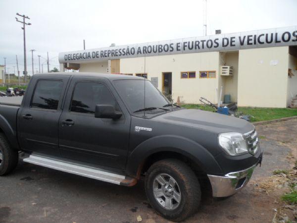 Preso em VG um dos maiores ladrões de caminhonete de Cuiabá