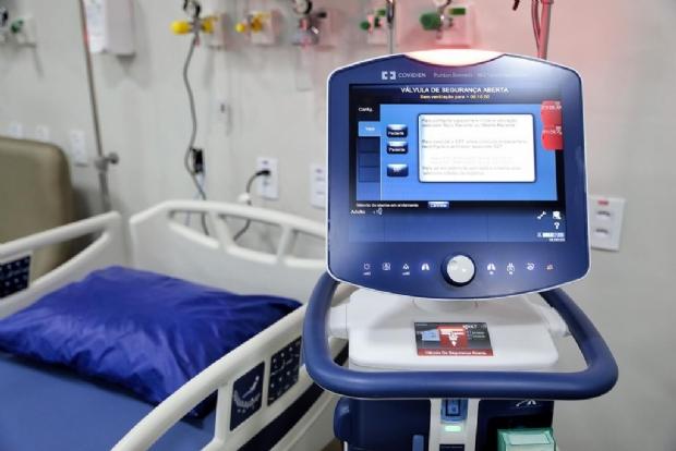 Internações por Covid-19 caem 18,1% em MT; PSVG não tem nenhum paciente em enfermaria