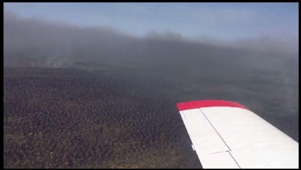 Incêndio no Parque Araguaia