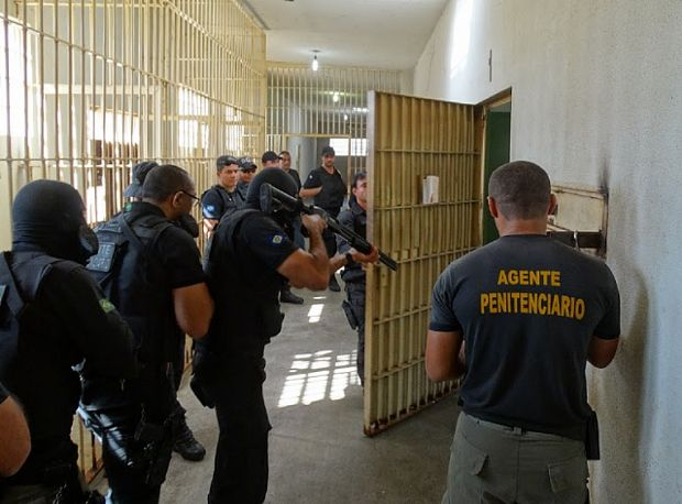 Agentes penitenciários aderem a mobilização nacional e cruzam os braços por dois dias
