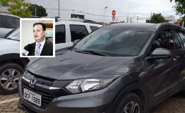 Força Tática prende homem com SUV roubada de juiz em Cuiabá