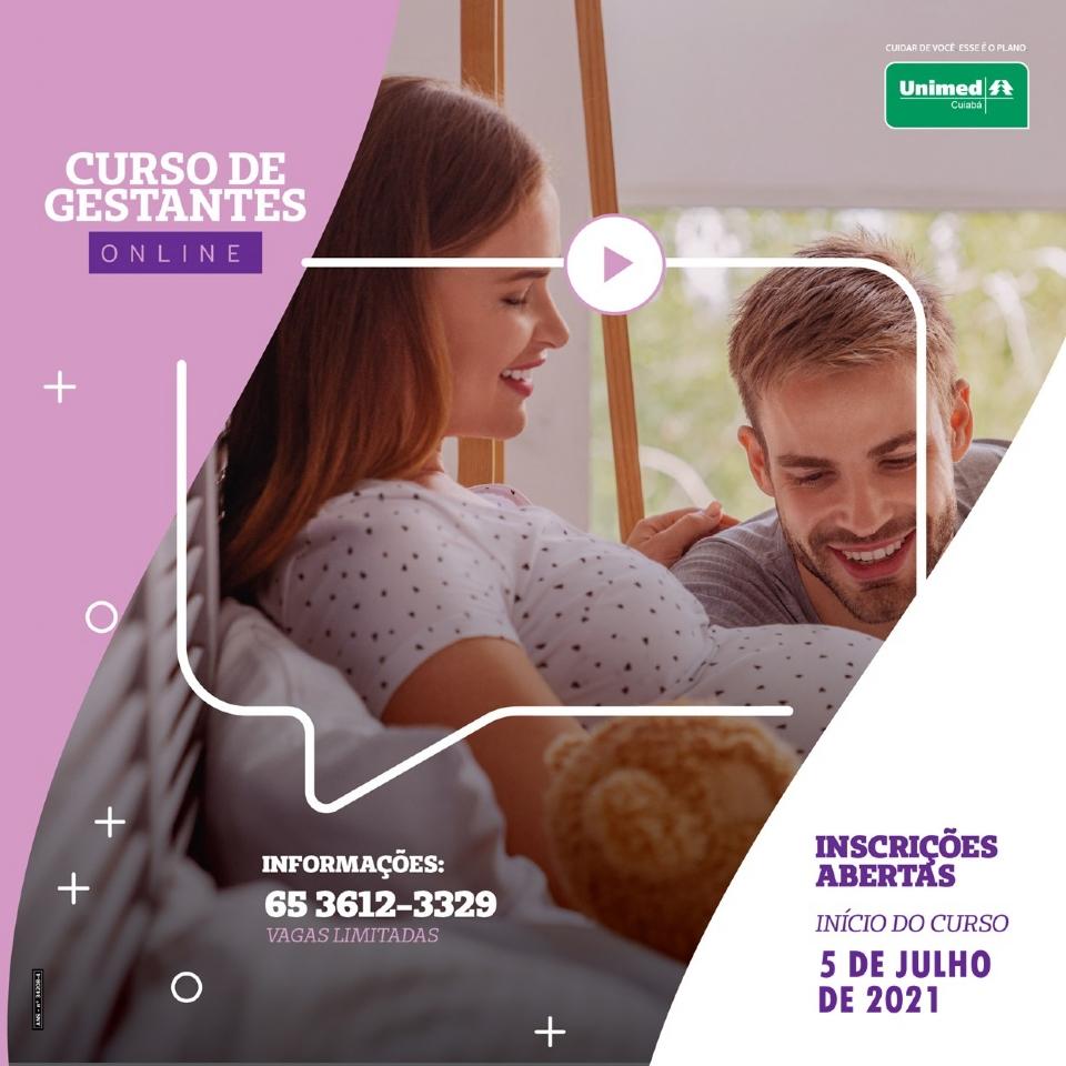 Unimed Cuiabá abre inscrições para capacitação virtual gratuita voltada para gestante
