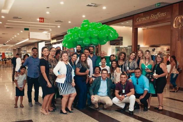 Unimed Cuiabá inaugura quiosque em shopping de Várzea Grande