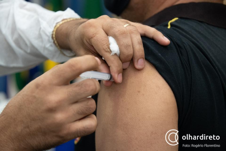 Cuiabá tem abstenção de 50% do público agendado para primeira dose da vacina; faltosos