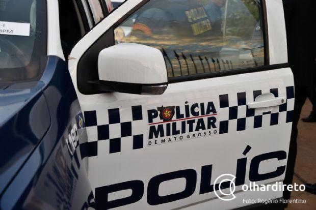 Dois homens morrem e policial acaba baleado durante entrega de intimação em MT