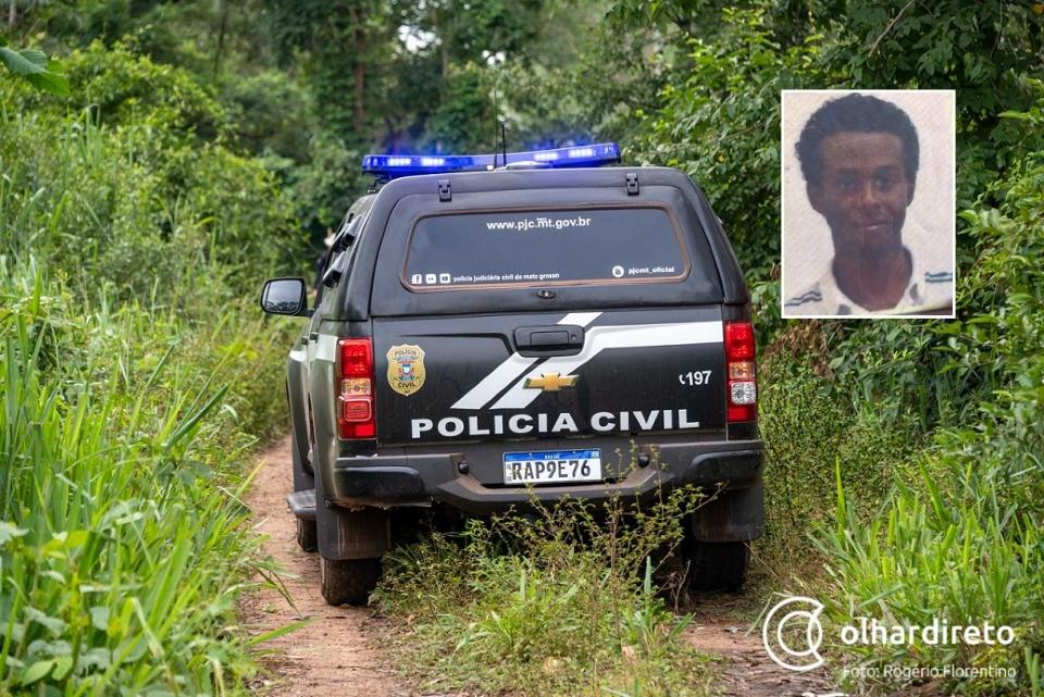Polícia apura se jovem encontrado sem vida em estrada foi morto a pauladas