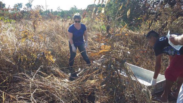 Corpo de menina de 13 anos desaparecida há uma semana é encontrado em estado avançado de decomposição;  fotos