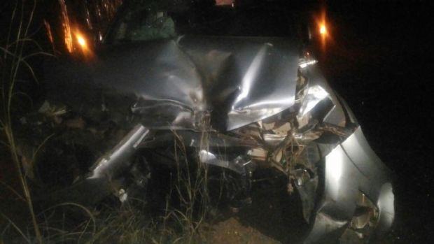 Prefeito sofre acidente em rodovia de Mato Grosso; SW4 teve frente destruída
