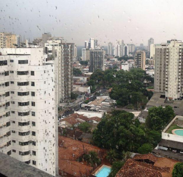 CPTEC aponta possibilidade de chuva no fim da tarde em Cuiabá