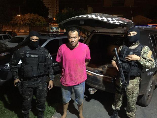 Jailson Soares, foragido da Mata Grande detido