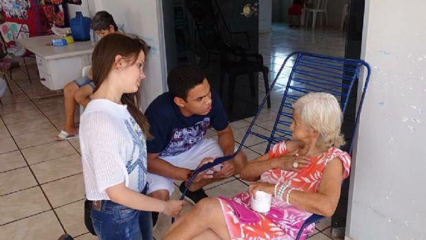 Estudantes de odontologia pedem doações de alimentos e kits de higiene para indígenas em MT