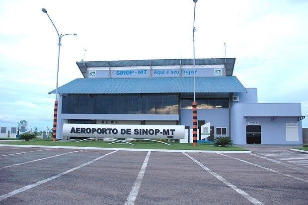 Aeroporto de Sinop deve receber R$ 8 milhões de investimentos do Governo