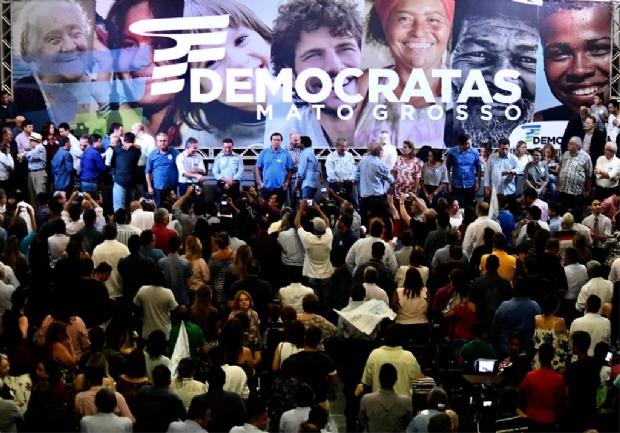 """Fábio Garcia 'avisa' Taques: """"quem quer apoio tem que ter disposição de apoiar"""""""