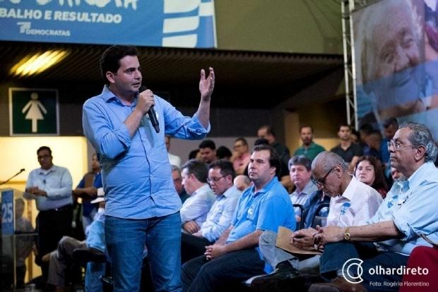 Cotado para secretariado de Mauro, Fábio Garcia destaca crescimento do DEM no Estado