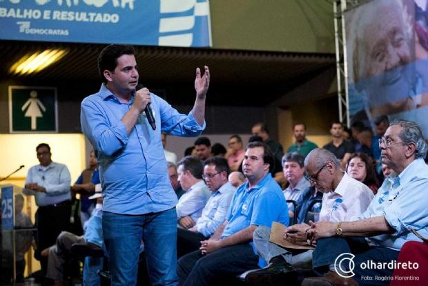 Presidido por Fábio Garcia, DEM foi partido que mais recebeu filiados