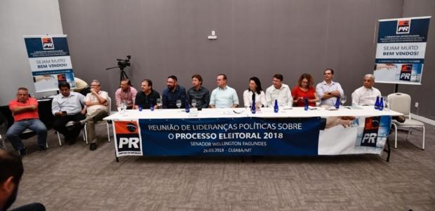 Fagundes critica Taques, aprova vice do MDB e garante chapa com pelo menos 5 partidos