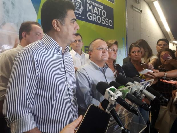 """""""Peço que reze um pouco"""", rebate Pedro Taques sobre críticas de Pivetta"""