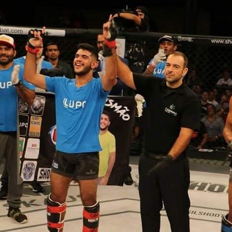 Atleta mato-grossense vence luta no maior evento de MMA da América Latina