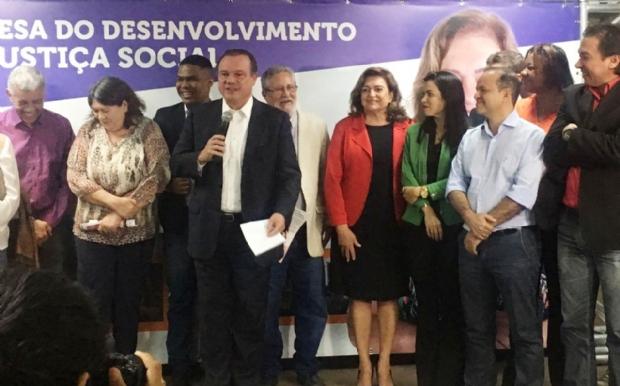 Wellington Fagundes deu o tom no evento de lançamento de Maria Lúcia Neder para o Senado da República