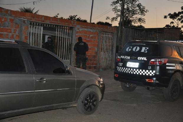 Veja   nomes dos presos em operação que desarticulou quadrilha que roubou R$ 1,3 milhão em cargas
