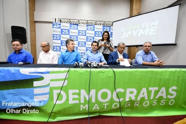 Após polêmica, DEM redefine diretório em Cuiabá e mantém cantor como presidente