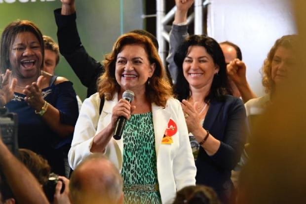Maria Lúcia promete questionar vendas da Embraer, petróleo e olhar por cidades 'fora do agro'