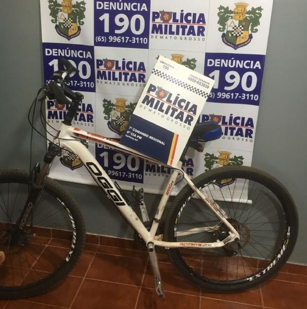 Mãe procura PM e devolve bicicleta furtada pelo filho de 16 anos