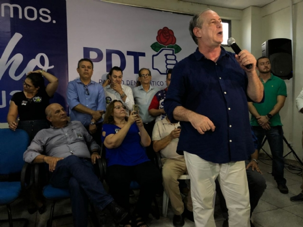 Ciro ressalta agro, defende infraestrutura para MT, ação na fronteira e critica Taques
