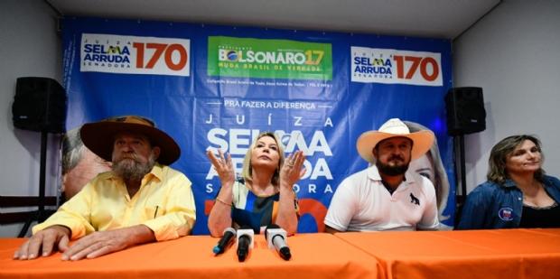 """Selma cita delação contra Taques, """"rasteira"""" de Leitão e rompe com PSDB"""