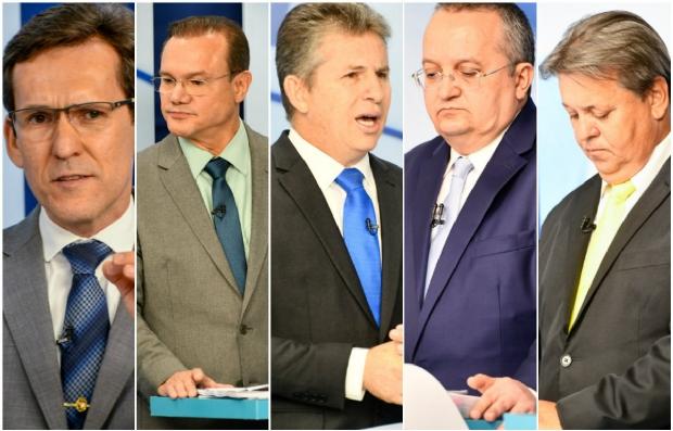 """Com cinco rodadas de perguntas livres, próximo debate ao governo de MT promete ser """"acalorado"""""""