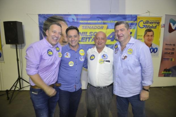 Democrata ignora Fávaro e declara apoio a Jayme e Nilson