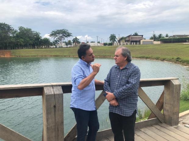 Prefeito destaca trabalho de Leitão em Brasília e candidato defende porte de arma em propriedades rurais