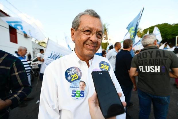 Jayme diz que campanha foi cansativa e apela para padroeiros de Cuiabá e VG para vencer
