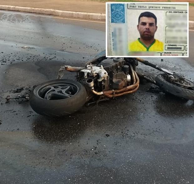 Imagens comprovam que motociclista morto em acidente participava de racha