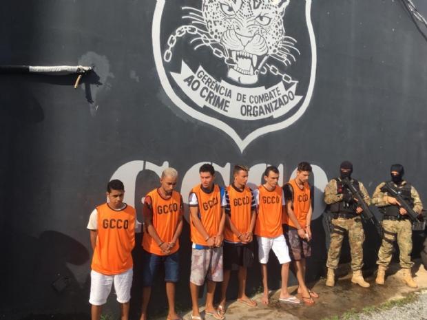 Veja quem são os ladrões de banco presos pela GCCO na 'Operação Omega 2'