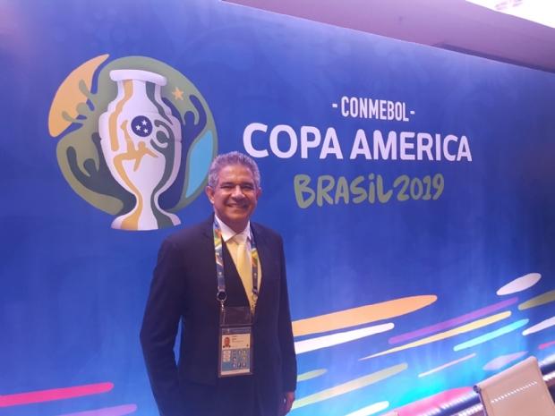 Coronel de MT coordenará segurança de seleções estrangeiras na Copa América