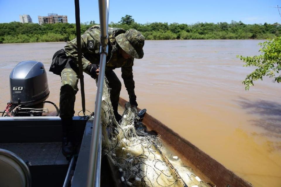 Multa para pesca ilegal com rede pode chegar a R$100 mil em MT; veja diferenças