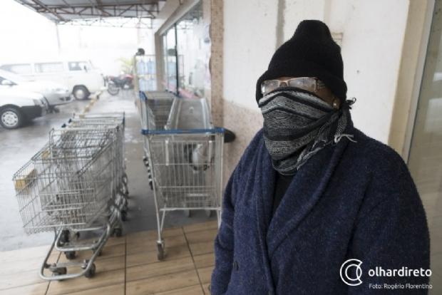 Cuiabá registra a madrugada mais fria do ano por dois dias consecutivos