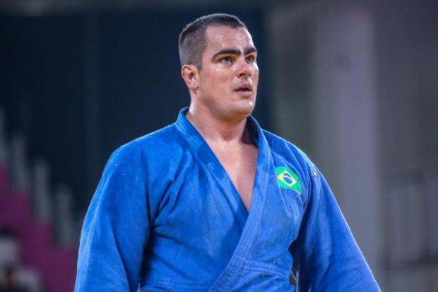 Judoca cuiabano David Moura conquista bronze nos jogos Pan-Americanos de Lima