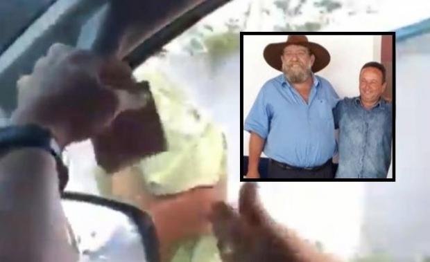 Barbudo repudia tapa em pedinte e diz que foto com agressor não significa apoio