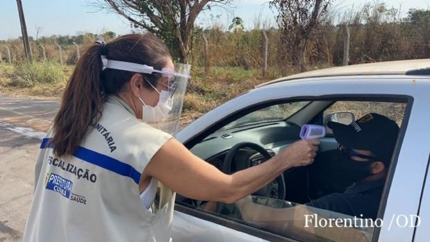 Barreiras sanitárias flagram 22 pessoas com sintomas de coronavírus em primeiro dia de fiscalização