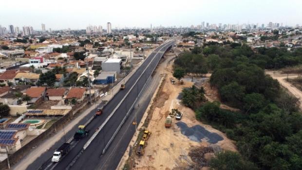 Após um ano e quatro meses, viaduto da Avenida das Torres será inaugurado no próximo domingo