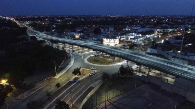 Prefeitura libera trânsito no viaduto das Torres nesta sexta; veja como ficou