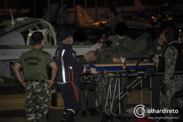 Morre piloto que sobreviveu a queda de helicóptero no Pantanal e foi transferido para o RJ após alta