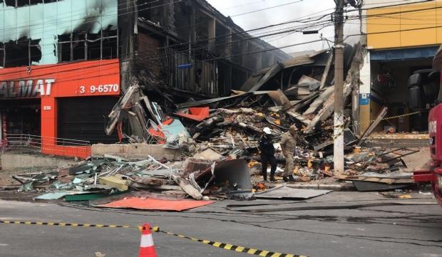 Perícia irá apontar se incêndio na Realmat foi acidental ou criminoso