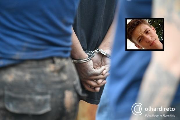 Acusado de matar irmão de policial militar é preso enquanto tentava fugir da cidade