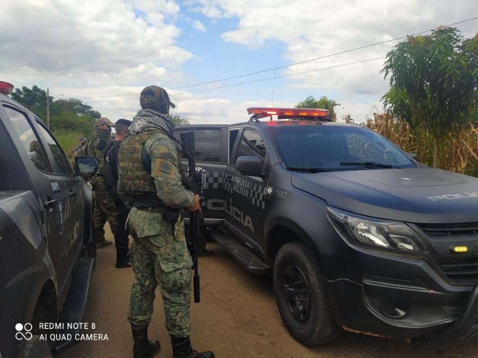 Assaltante de banco é morto em confronto com o Bope;  fotos e vídeos