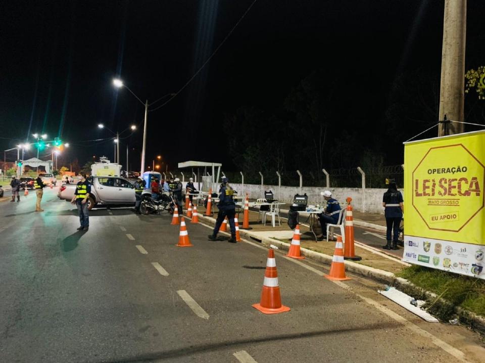 Blitz em VG termina com a prisão de cinco motoristas por dirigirem sob influência de álcool