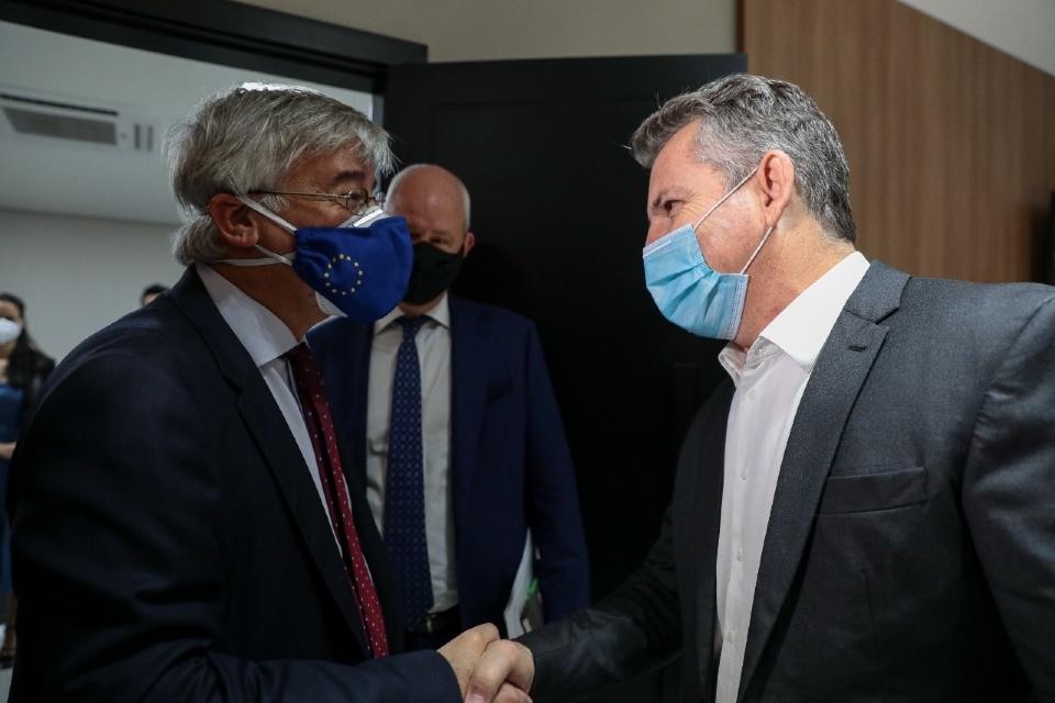 Mendes se reúne com embaixadores dos EUA e de países da Europa para discutir combate a crimes ambientais